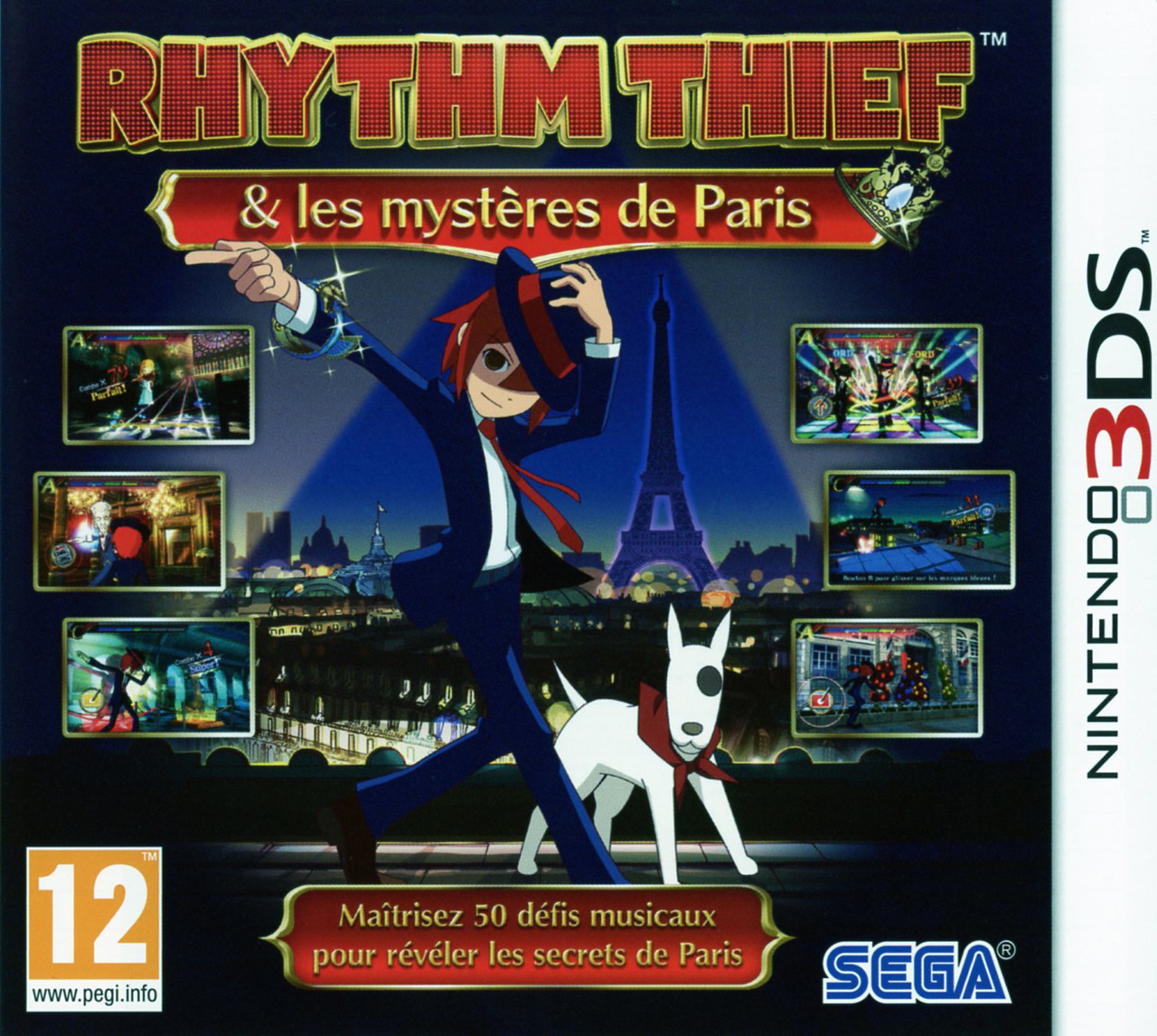 [MULTI] [Nintendo 3DS]  Rhythm Thief & les Mystères de Paris [PAL]