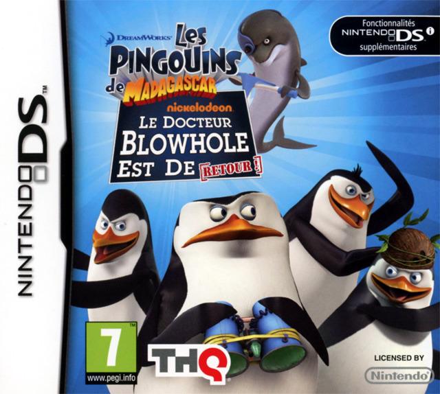 Les Pingouins de Madagascar : Le Docteur Blowhole est de Retour DS
