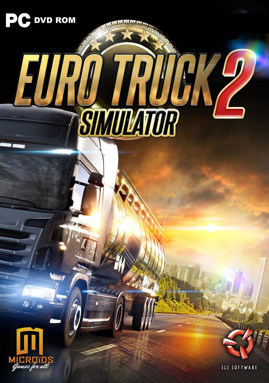 euro truck simulator 2 sur pc. Black Bedroom Furniture Sets. Home Design Ideas