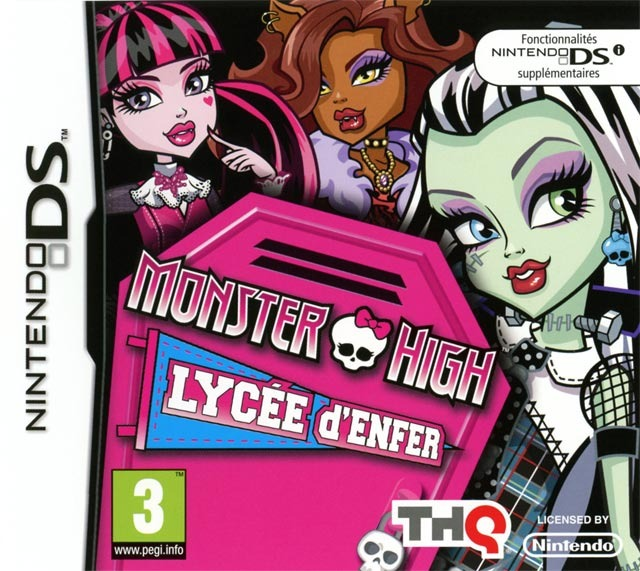 Monster High : Lycée d'Enfer [FR] [Nintendo DS] [FS]