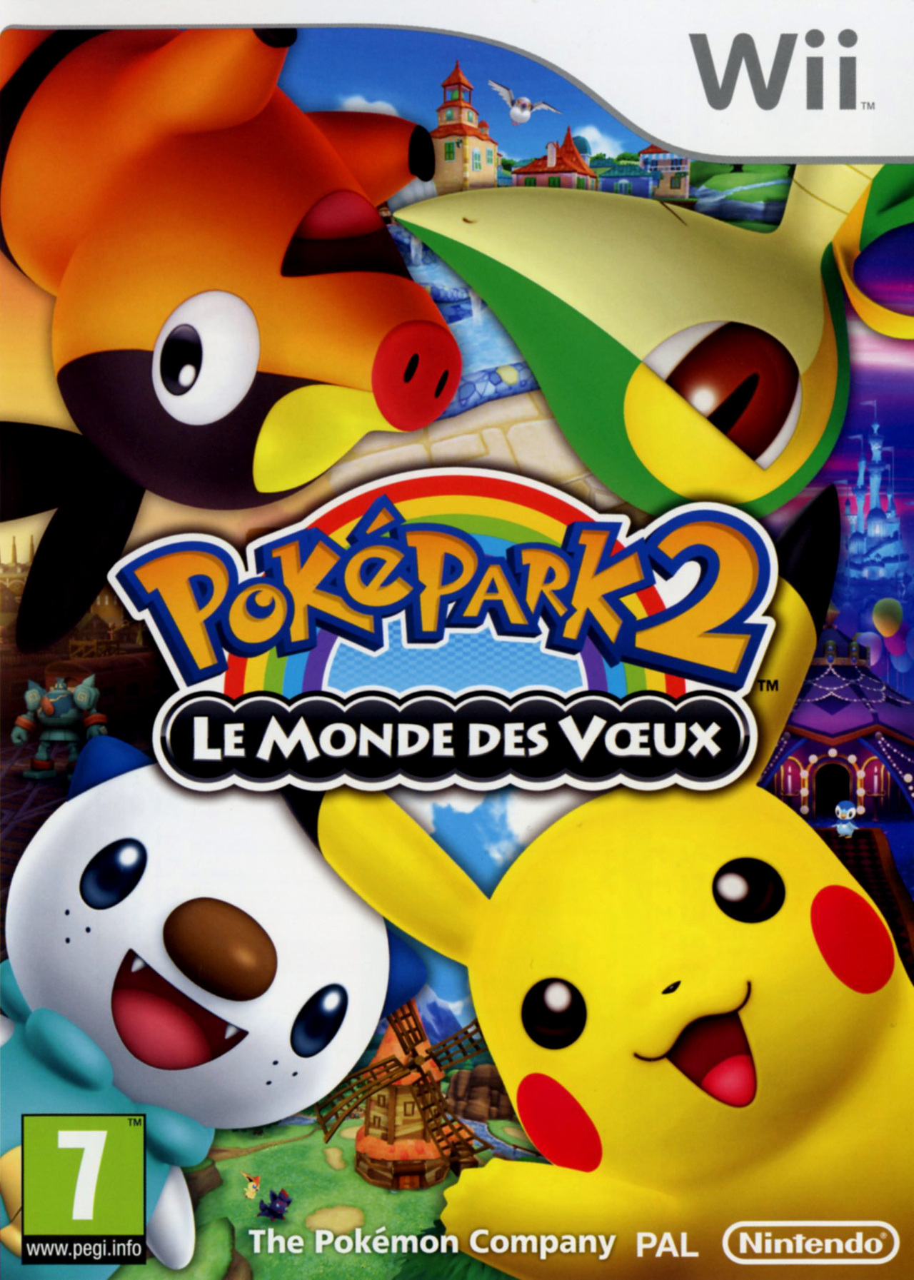PokéPark 2 : Le Monde des Voeux [UL] [Wii]   (Exclue)