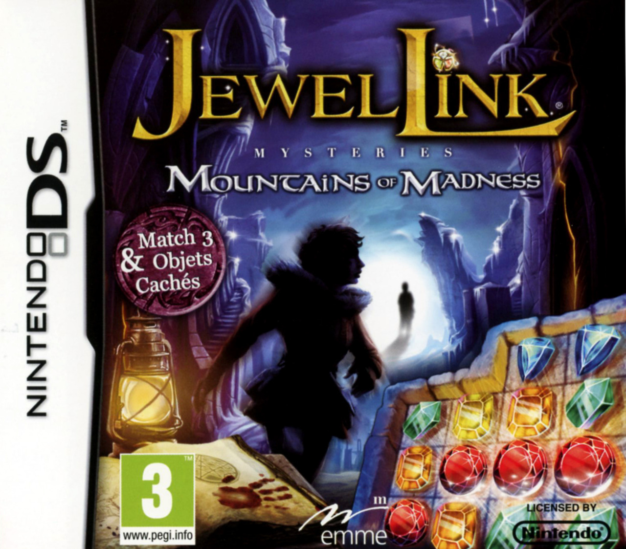 Jewel Link Mysteries : Mountains of Madness DS