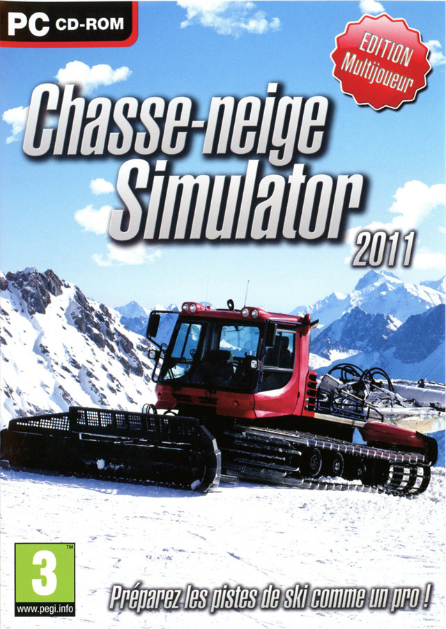 chasse neige simulator 2011 sur pc. Black Bedroom Furniture Sets. Home Design Ideas