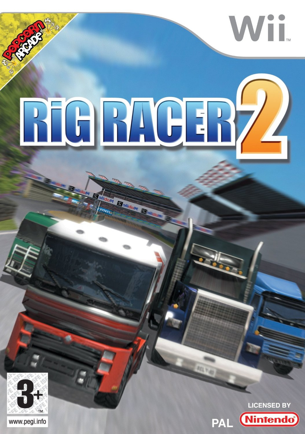 rig racer 2 sur wii. Black Bedroom Furniture Sets. Home Design Ideas