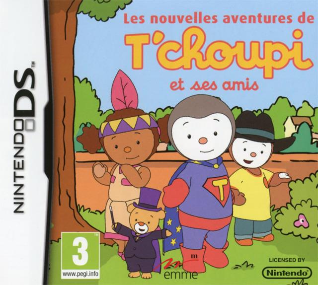 Les Nouvelles Aventures de T'choupi et ses Amis [FRENCH][NDS] [TB]