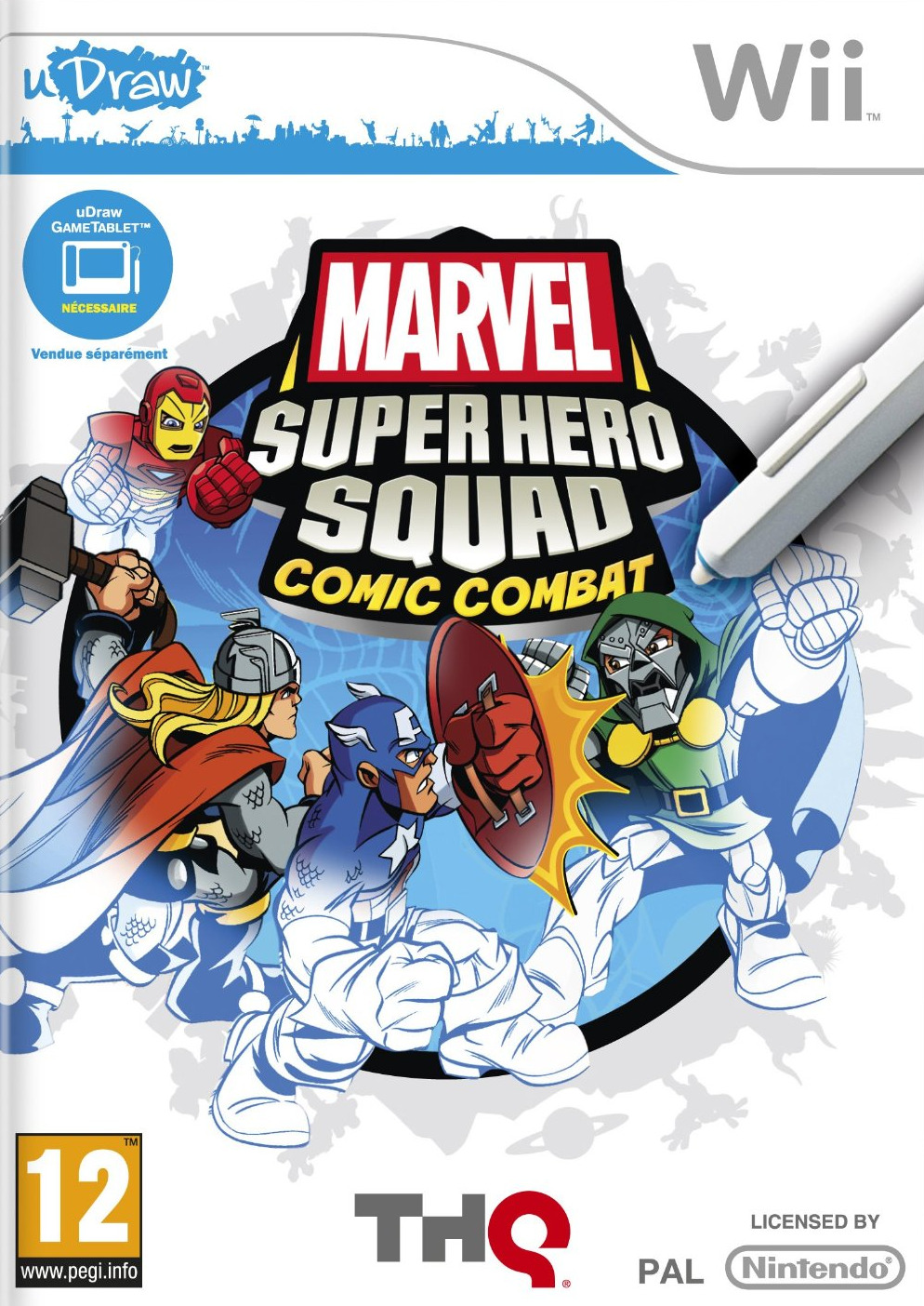 Marvel Super Hero Squad : Comic Combat [Wi] [FS][WU]