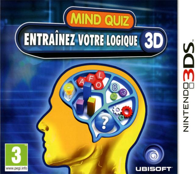 Mind Quizz : Entraînez votre Logique 3D.EUR.3DS-CONTRAST