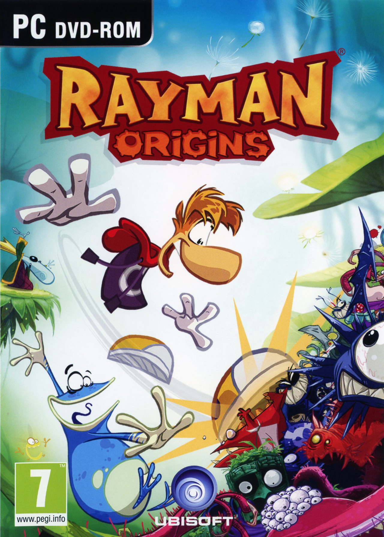 rayman origins sur pc. Black Bedroom Furniture Sets. Home Design Ideas