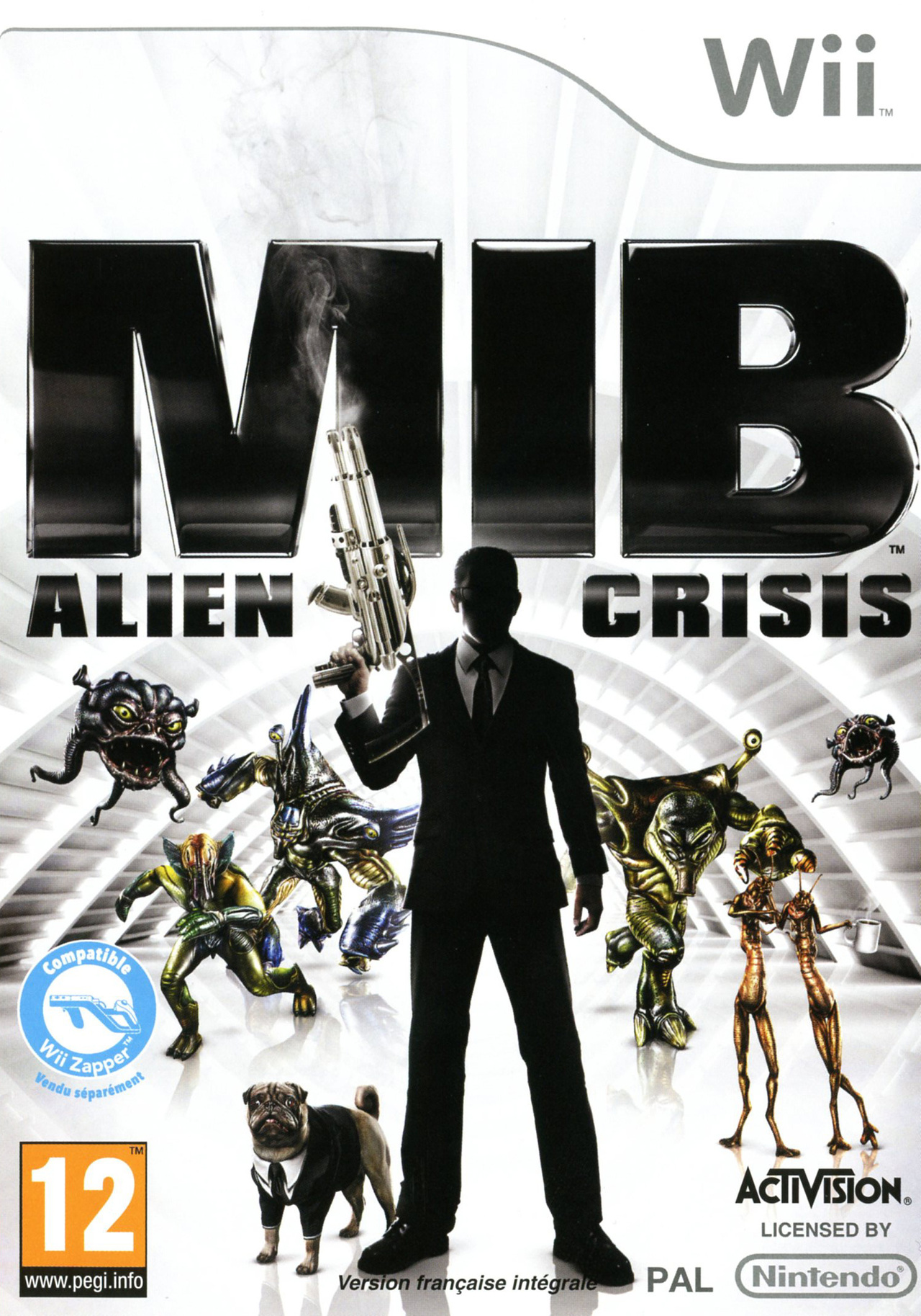 jeuxvideo.com Men in Black : Alien Crisis - Wii Image 1 sur 51