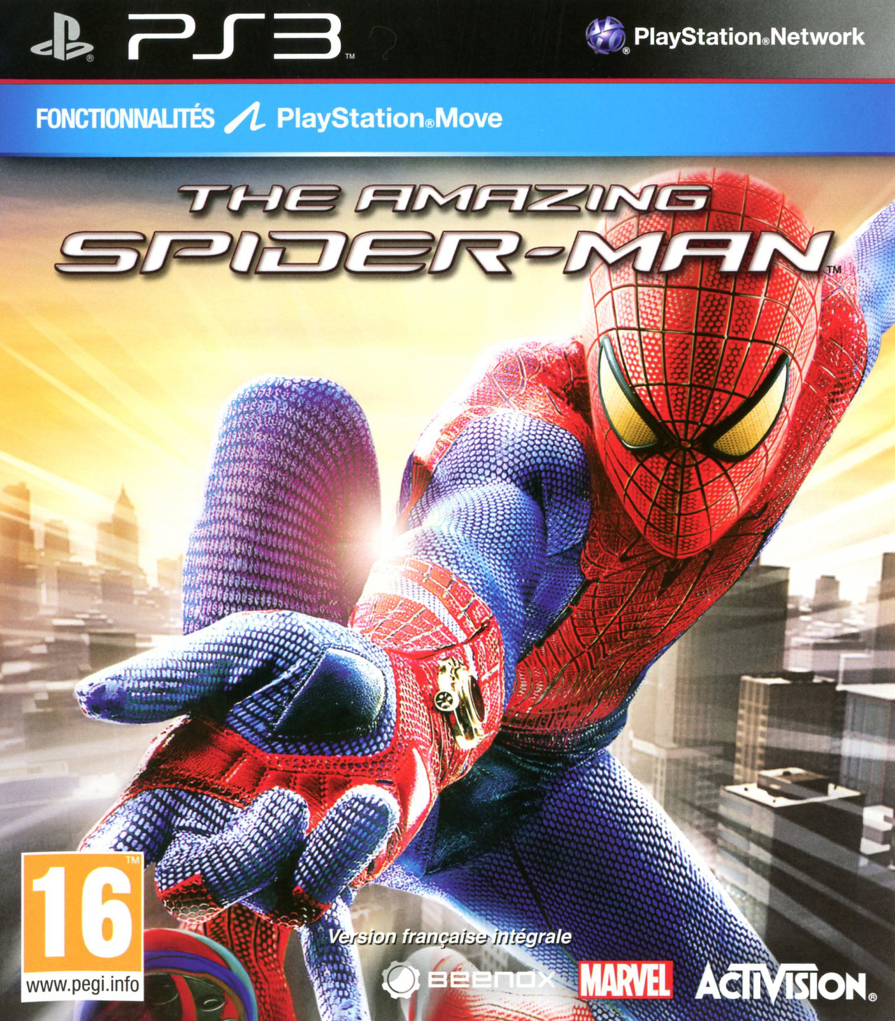 the amazing spider man sur playstation 3 jeuxvideocom