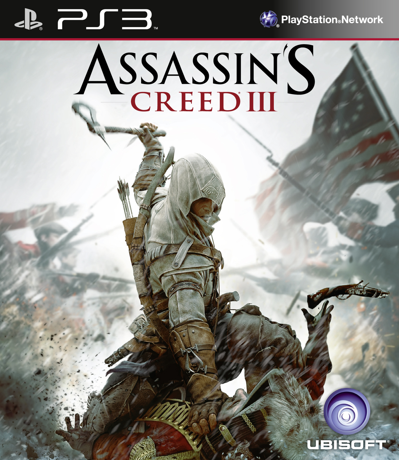 Assassin's Creed III + Eboot Patch. [PlayStation 3] [MULTI]