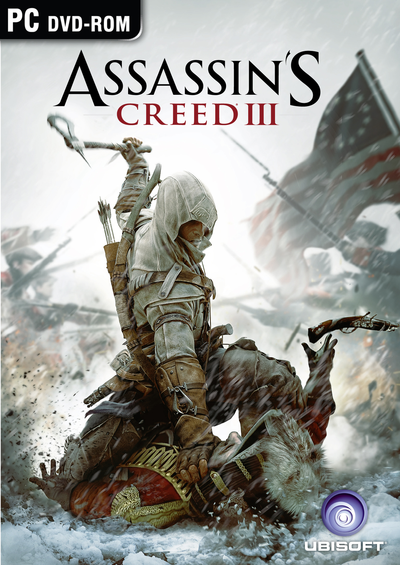 Assassin's Creed III  [PC | ISO] [MULTILANGUES ] 2DVD + Crack  [MULTI] (Exclue)