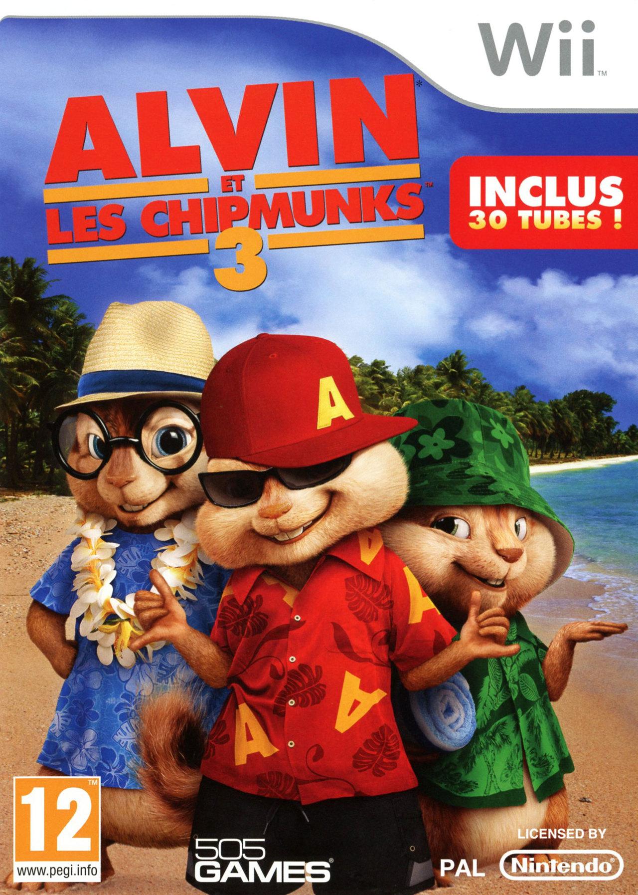 Alvin Et Les Chipmunks 3 Sur Wii