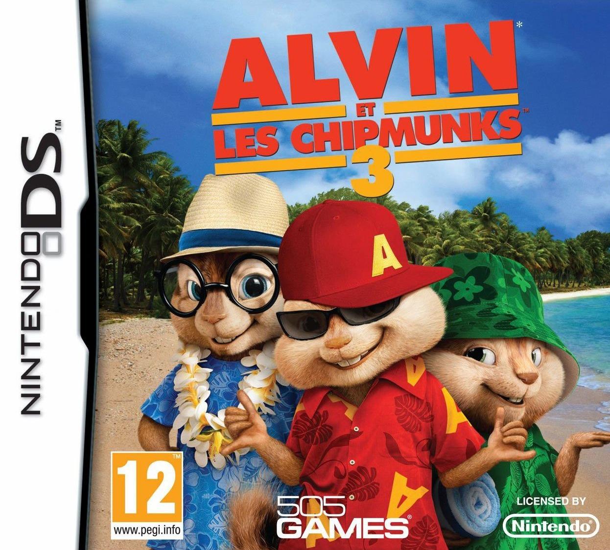 Alvin And The Chipmunks 3 Images alvin et les chipmunks 3 sur ds - achat à 23.5€ sur amazon