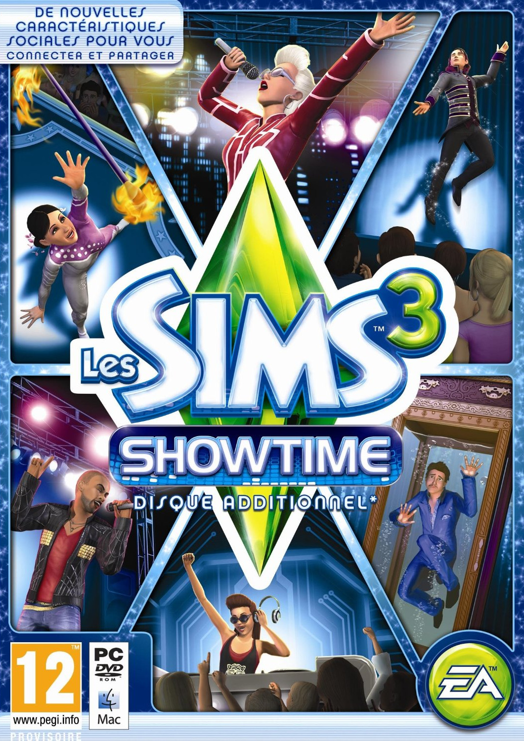 The Sims 3 Showtime (exclue) [UL]