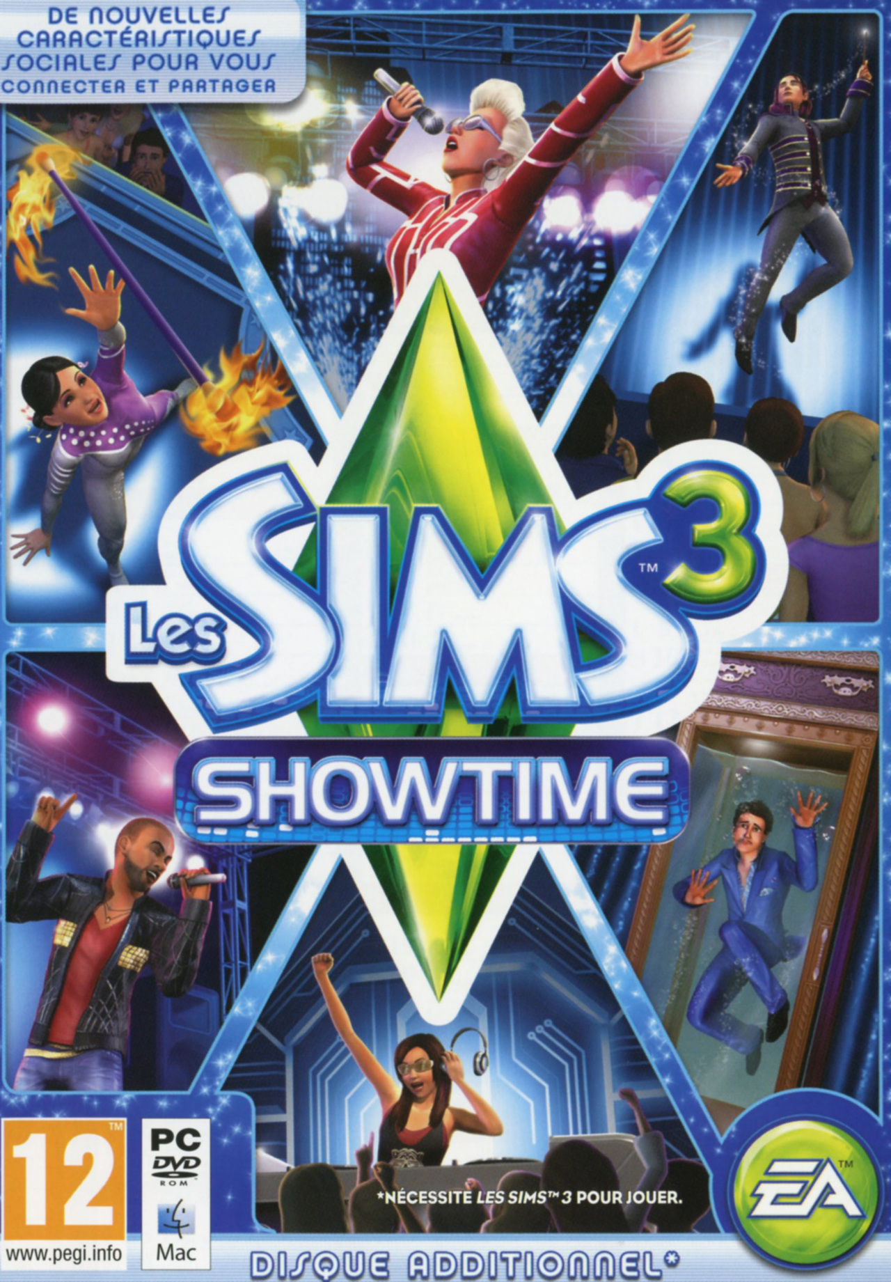 Les Sims 3 Showtime Edition Collector Katy Perry: Les Sims 3 : Showtime Sur PC