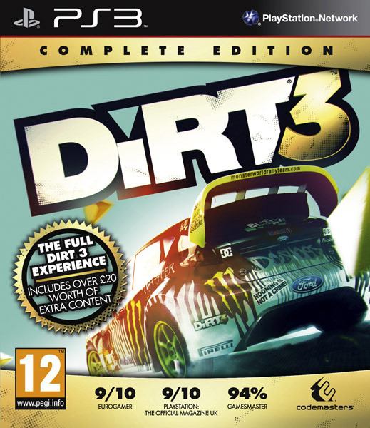 Dirt 3 Complete Edition PS3 [UL]