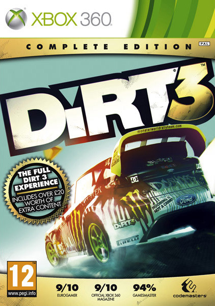 Dirt 3 Complete Edition XBOX360 (exclue) [UL]