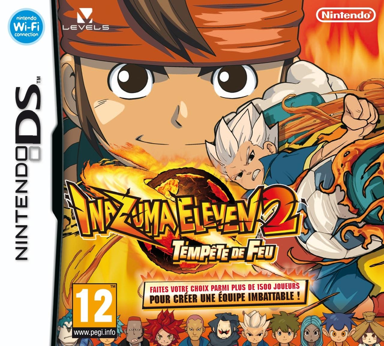 [UP.TO] Inazuma Eleven 2 : Tempête de Feu [DS]