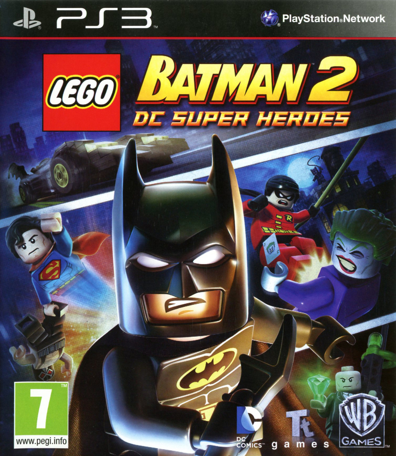 lego batman 2 dc super heroes sur playstation 3. Black Bedroom Furniture Sets. Home Design Ideas