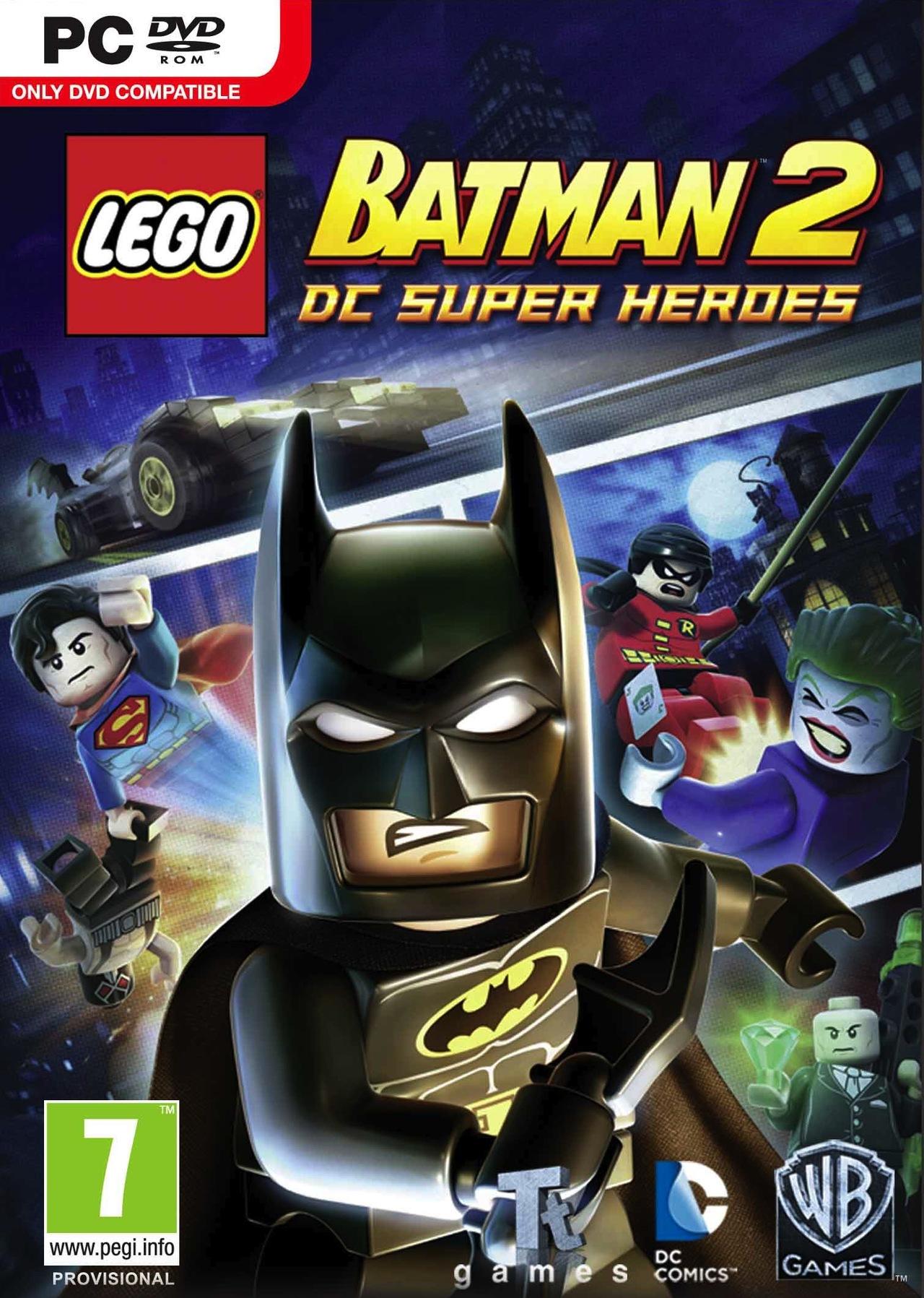 LEGO Batman 2 DC Super Heroes-RELOADED روابط زي الخيال !
