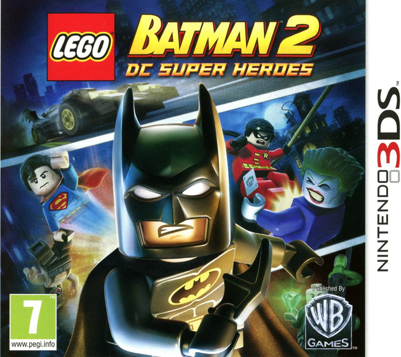 lego batman 2 dc super heroes sur nintendo 3ds. Black Bedroom Furniture Sets. Home Design Ideas