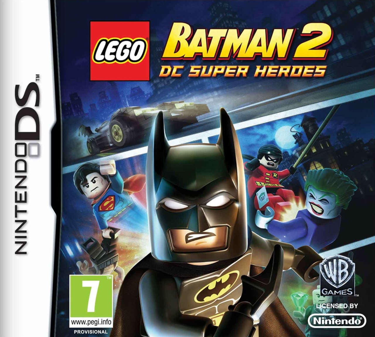 [MULTI] [Nintendo DS]  LEGO Batman 2 : DC Super Heroes [FR]