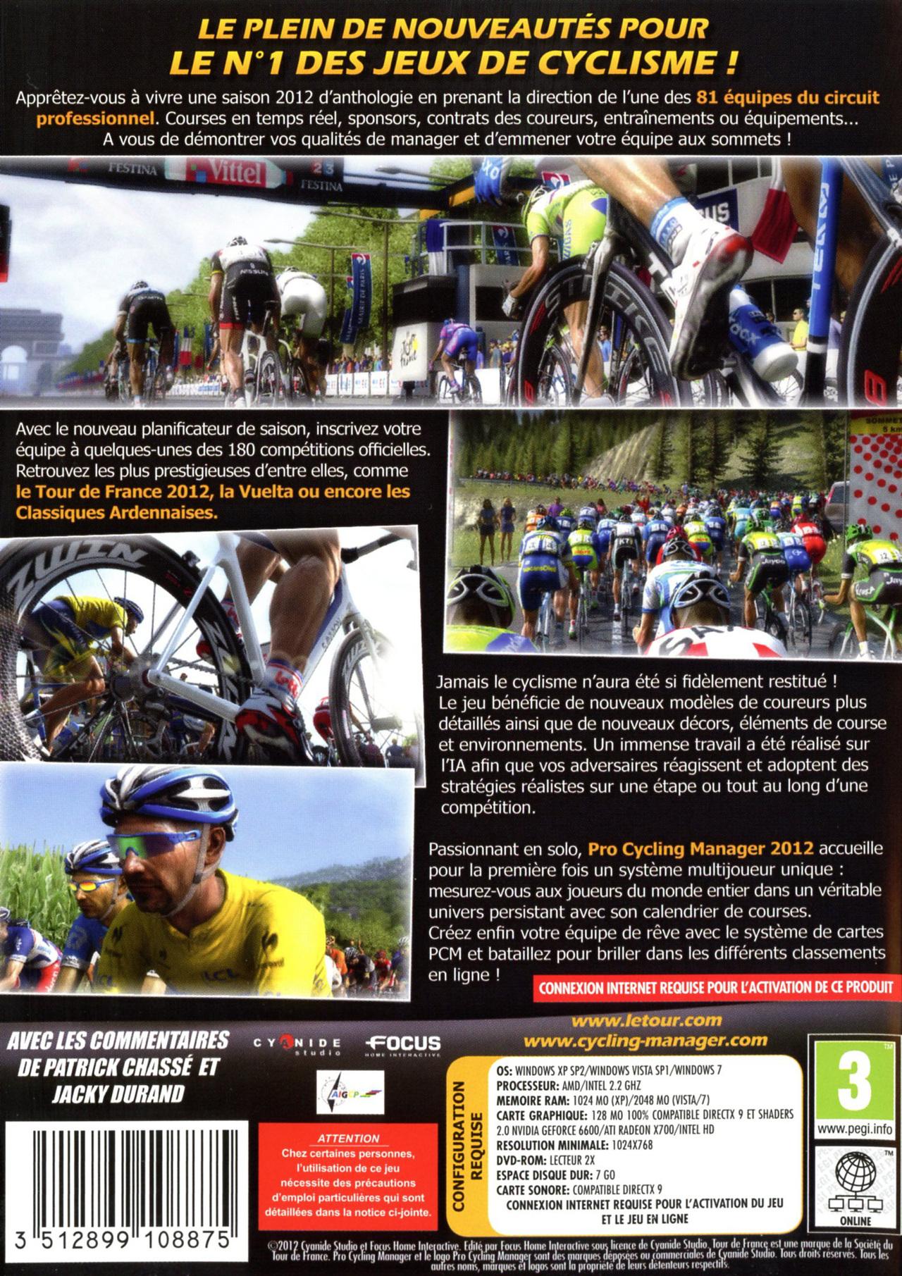 jeuxvideo.com Pro Cycling Manager Saison 2012 - PC Image 2 sur 83