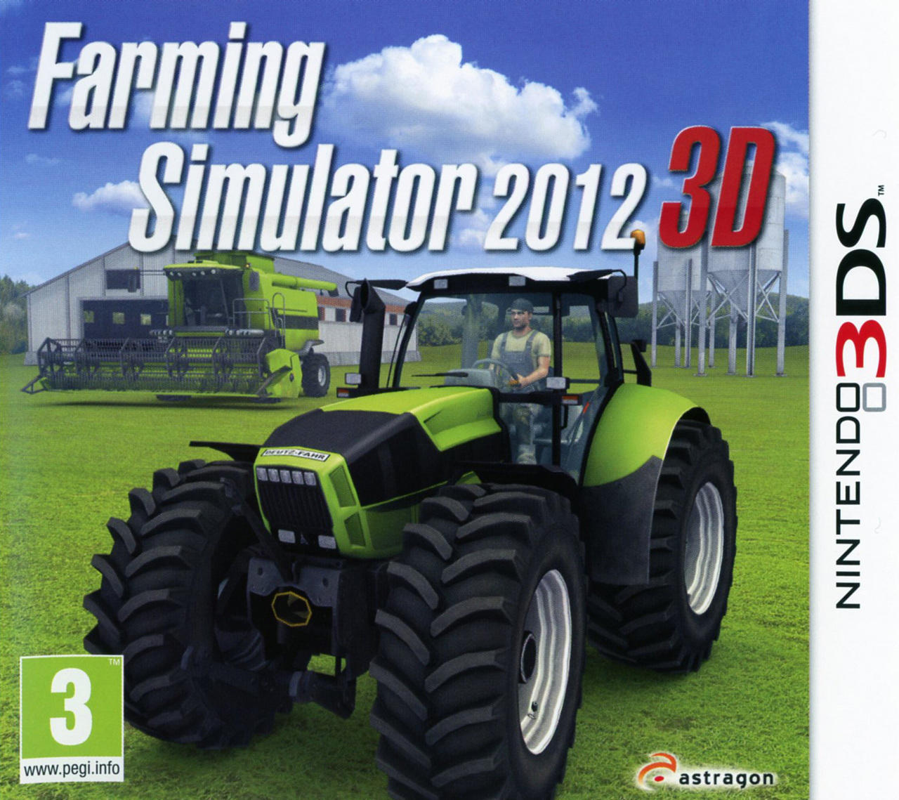 farming simulator 2012 3d sur nintendo 3ds. Black Bedroom Furniture Sets. Home Design Ideas