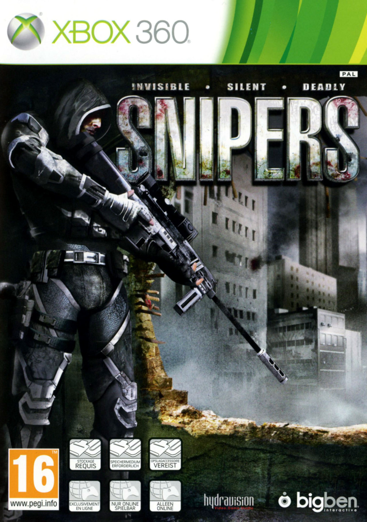 Snipers PAL XBOX360 [UL]