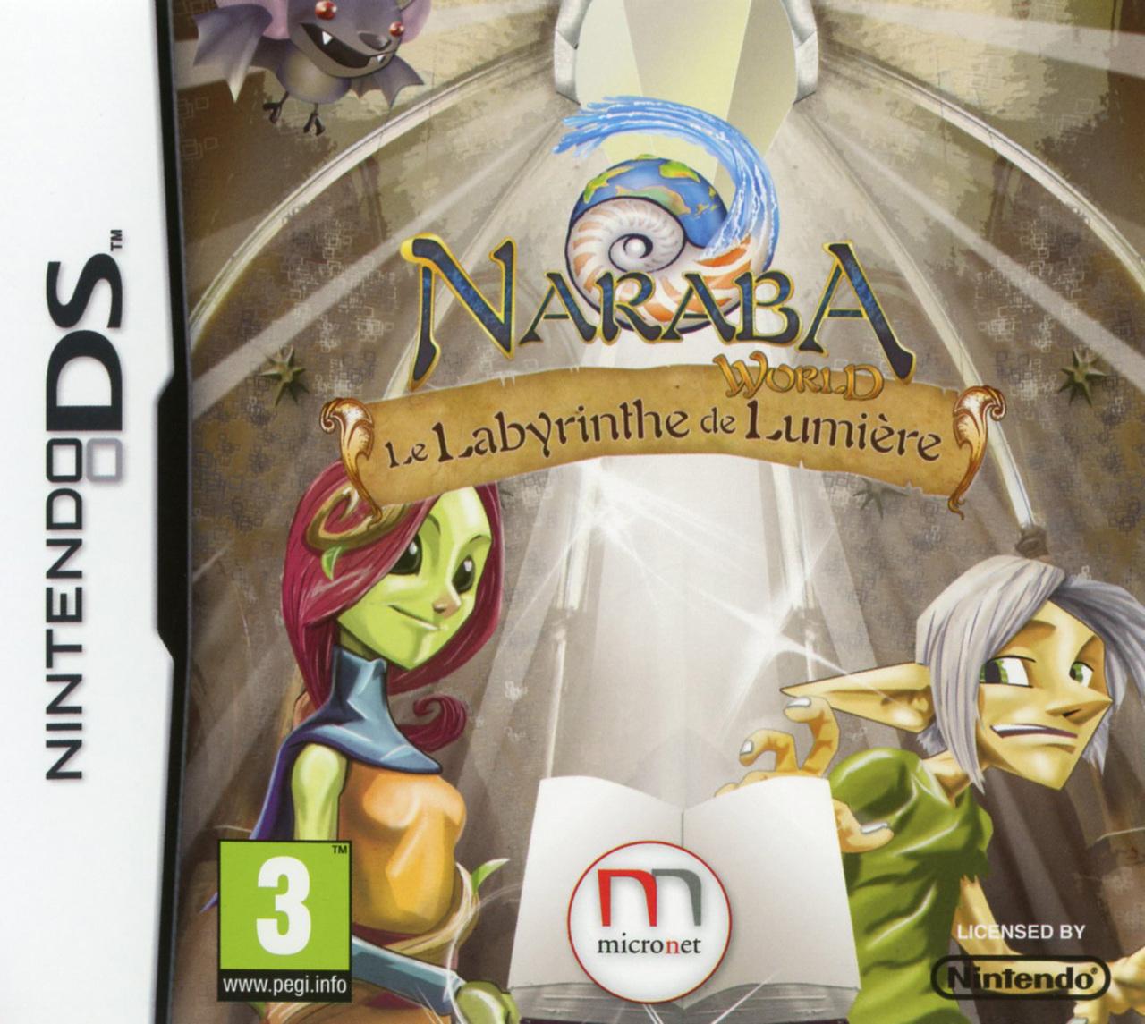 Naraba World : Le Labyrinthe des Lumières