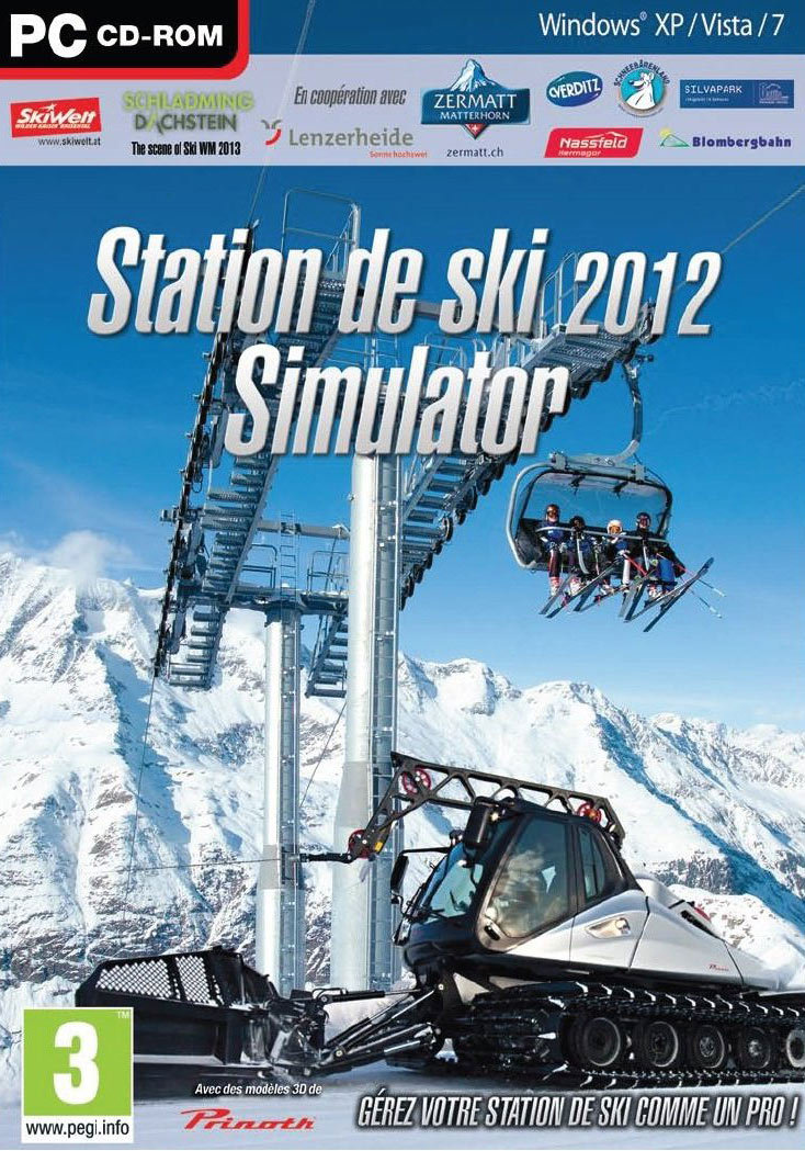 station de ski simulator 2012 sur pc. Black Bedroom Furniture Sets. Home Design Ideas