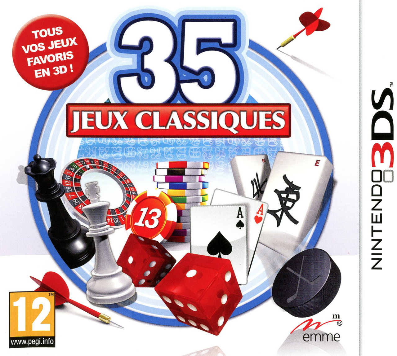 35 jeux classiques sur nintendo 3ds. Black Bedroom Furniture Sets. Home Design Ideas