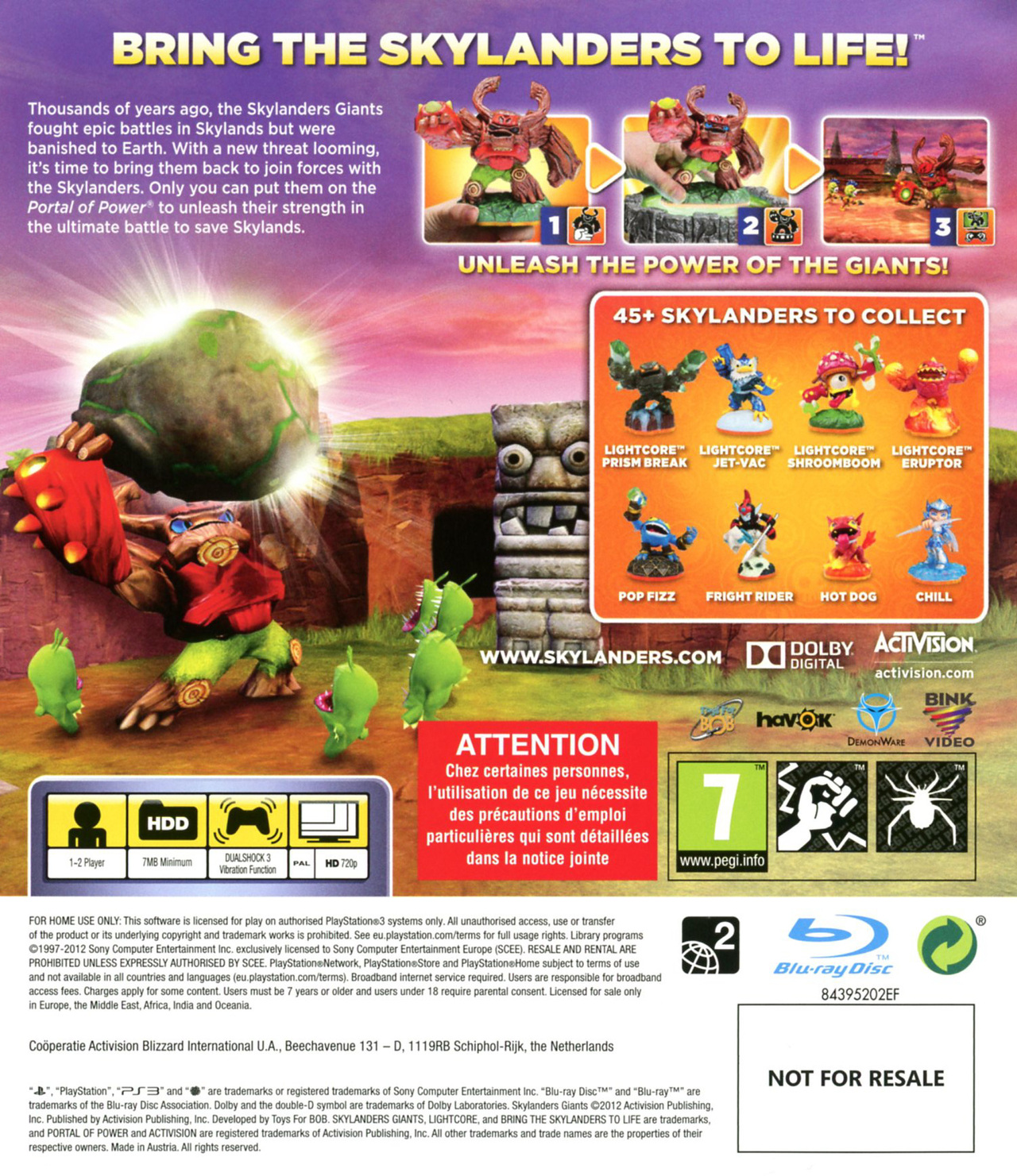 Images Skylanders Giants PlayStation 3 - 2