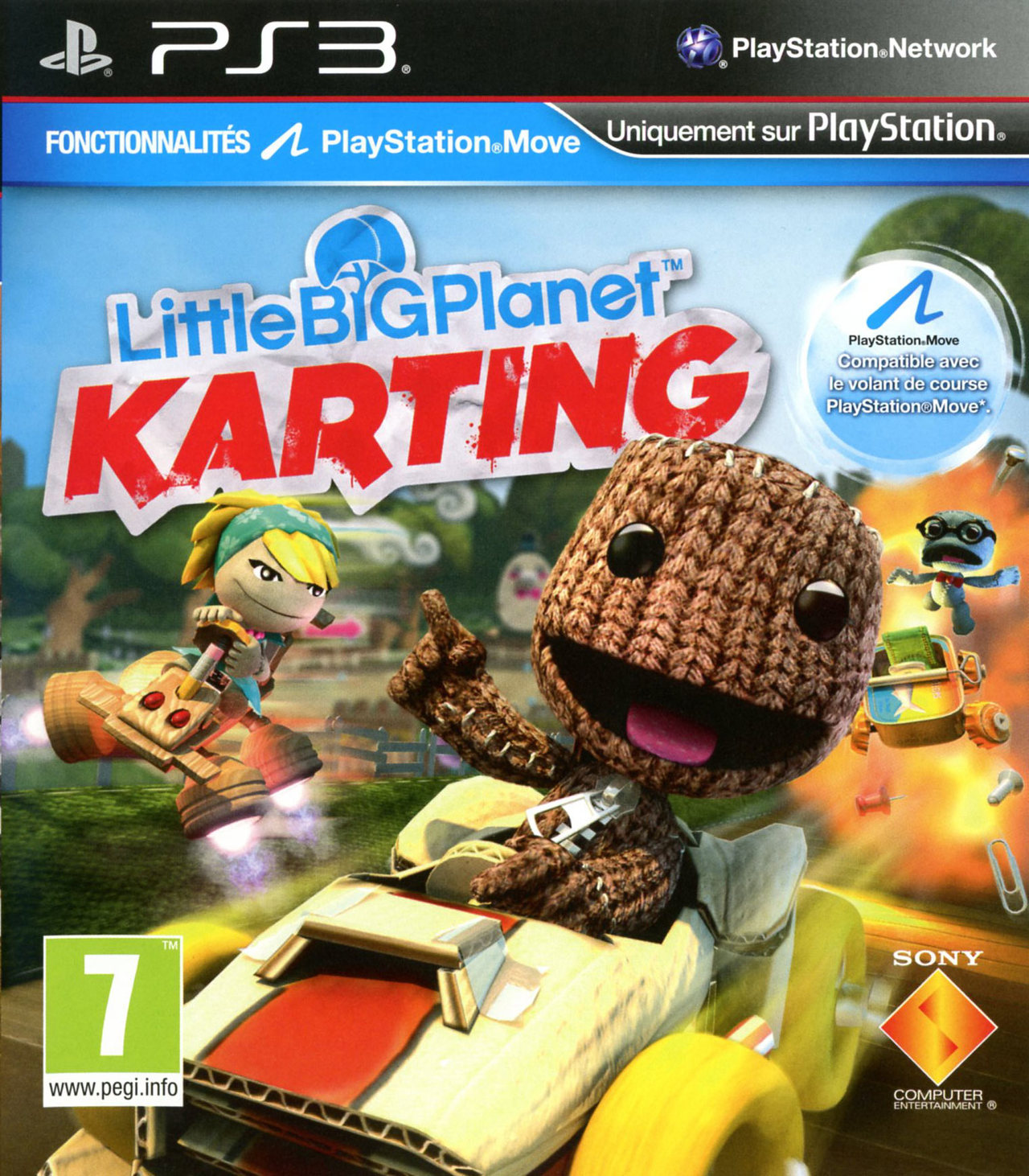 littlebigplanet karting sur playstation 3. Black Bedroom Furniture Sets. Home Design Ideas