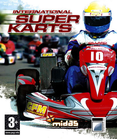 international super karts sur playstation 3. Black Bedroom Furniture Sets. Home Design Ideas