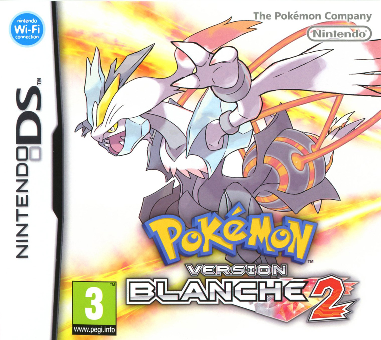 Nintendo Ds Pokemon Games : Pokémon version blanche sur nintendo ds jeuxvideo