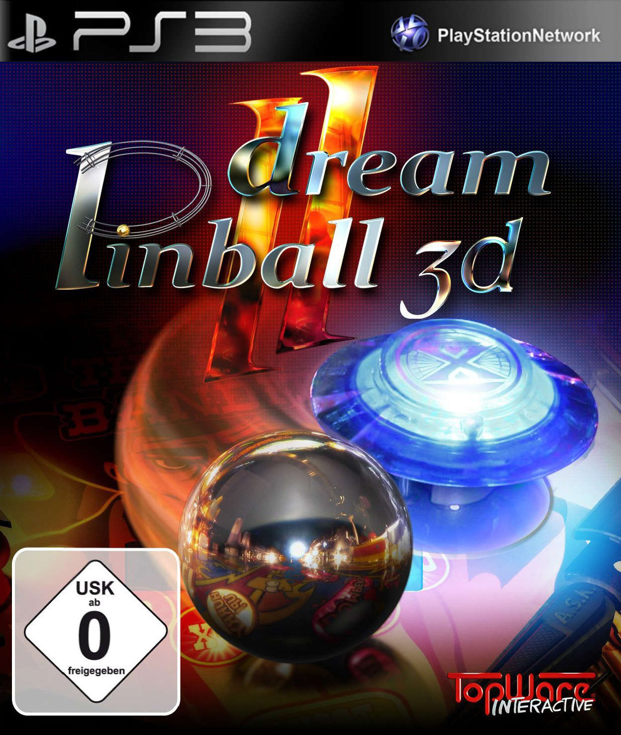 dream pinball 3d ii sur playstation 3. Black Bedroom Furniture Sets. Home Design Ideas