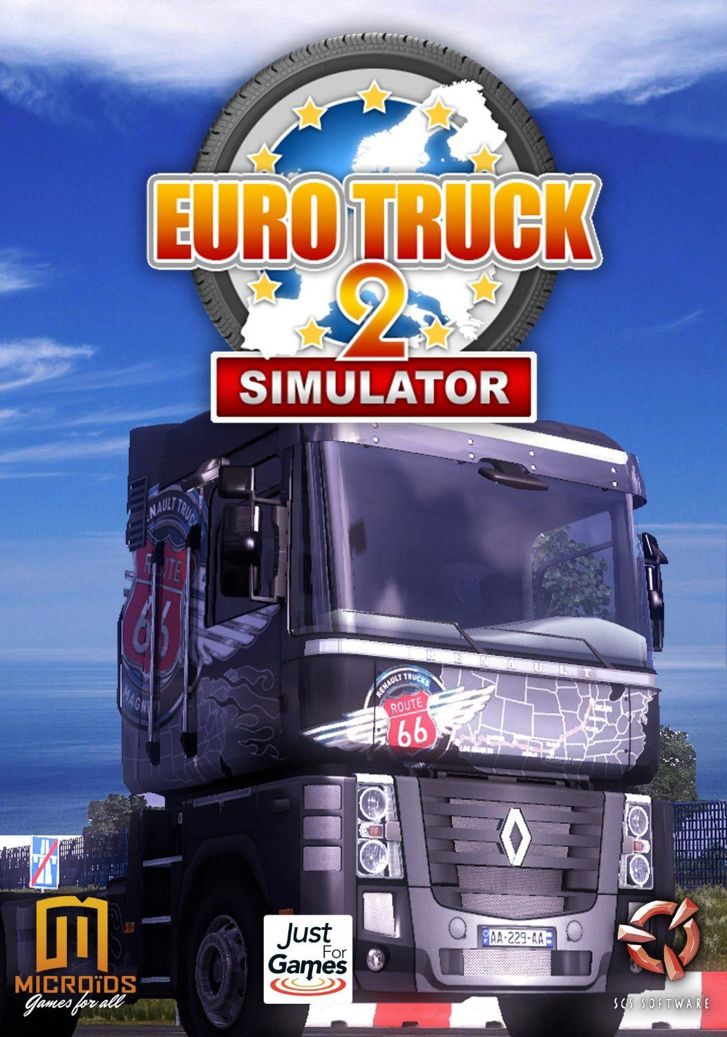 euro truck simulator 2 sur mac. Black Bedroom Furniture Sets. Home Design Ideas