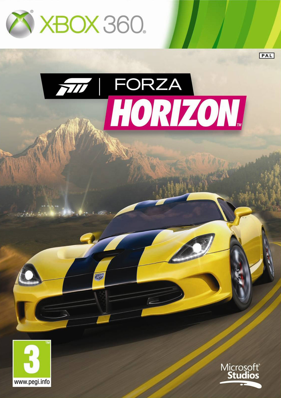 forza horizon sur xbox 360. Black Bedroom Furniture Sets. Home Design Ideas