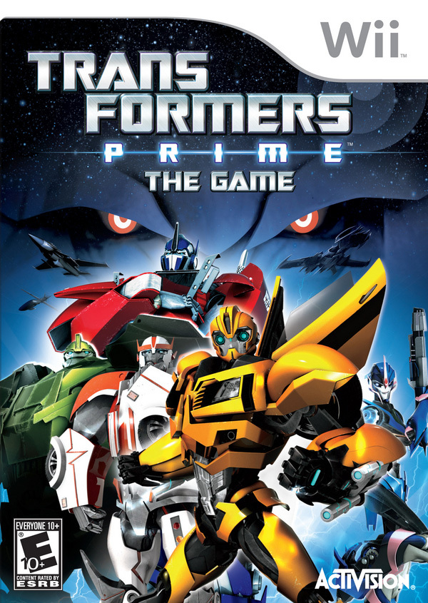Transformers Prime The Game PAL WII [MULTI]