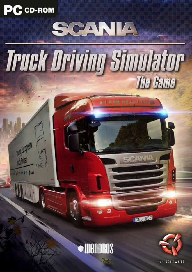[DF] scania truck driving simulator [PC]