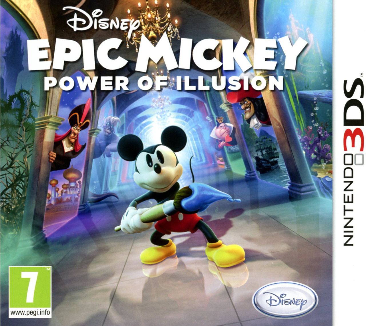 Images Epic Mickey : Power of Illusion Nintendo 3DS - 1