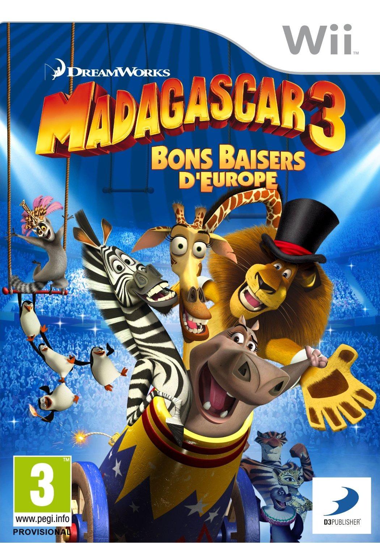 Madagascar 3 [REPACK USA Wii]