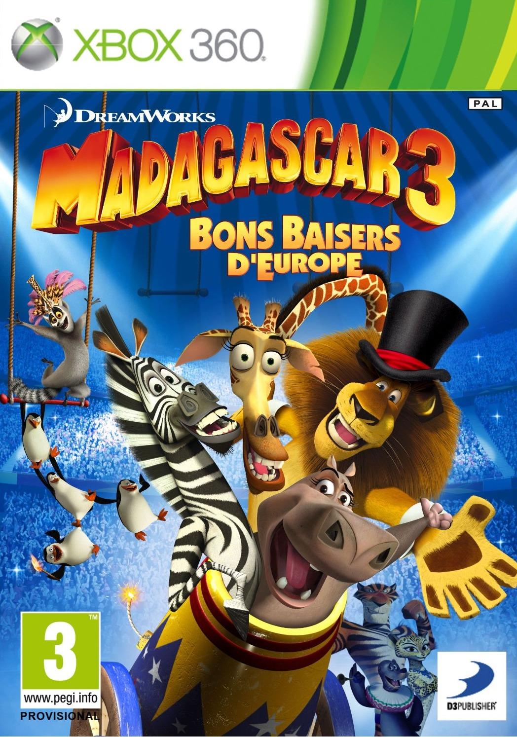 Madagascar 3 [XBOX360]