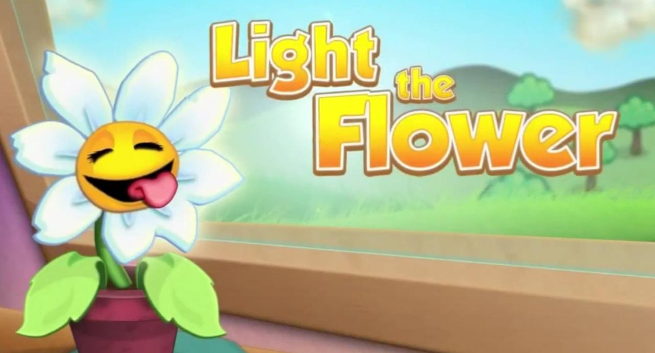 light the flower sur ios. Black Bedroom Furniture Sets. Home Design Ideas