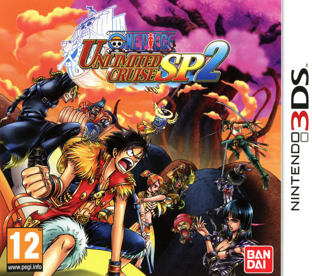 One piece unlimited cruise sp 2 sur nintendo 3ds for One piece juego
