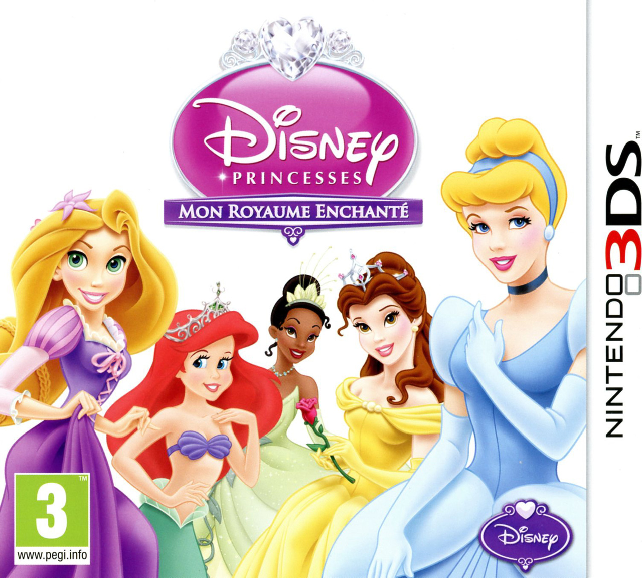 disney princesses mon royaume enchant sur nintendo 3ds. Black Bedroom Furniture Sets. Home Design Ideas