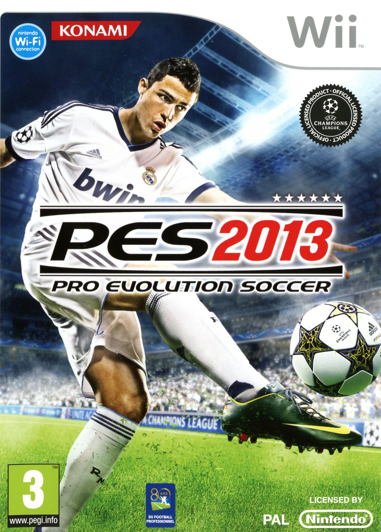 Pro Evolution Soccer 2013 MULTI3 [FR] PAL WII [MULTI]
