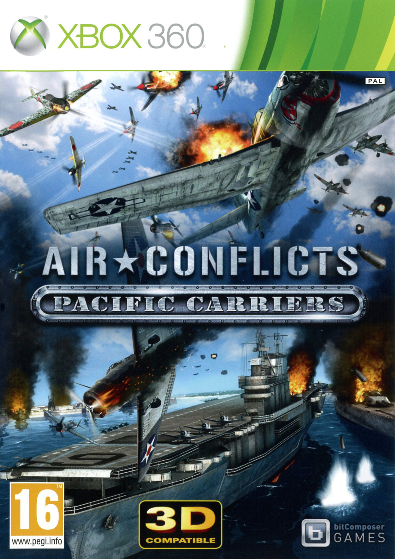Images Air Conflicts : Pacific Carriers Xbox 360 - 1